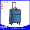 New Luggage 2015 sky blue travel luggage China eminent trolley luggage bag