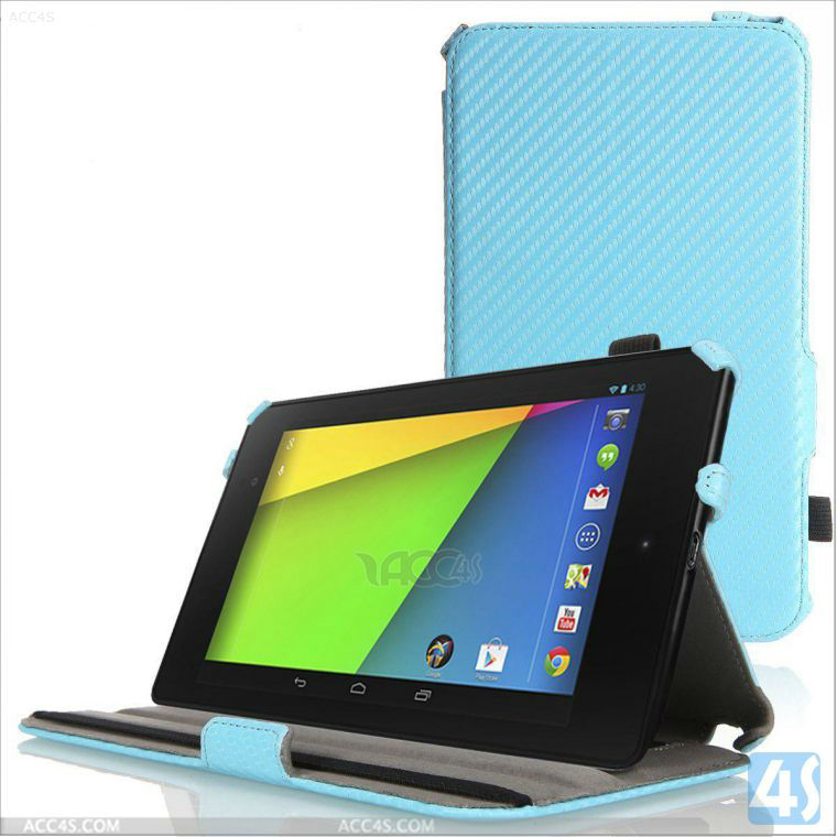 new arrival 2014 For nexus 7 ii,leather wallet case for Google Nexus 7 2 2nd Gen FHD ASUS logo design P-GGNEXUS7IICASE030