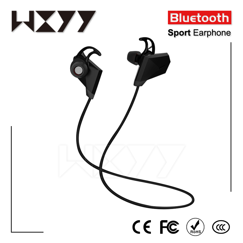 Sports In-Ear Wireless Bluetooth Earphone Stereo Earbuds Headset Bass Earphones With Mic For All 6 Samsung Phone MP3 MP4
