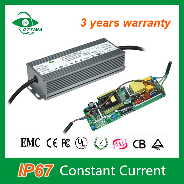 Constant current 50w led driver 36v 1500ma ip67 waterproof electronic led driver