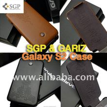SGP case for Galaxy S2 i9100 SGP GARIZ Leather Series Case for Samsung Galaxy S2