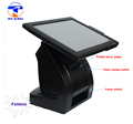 electronic smart 15 inch dual screen pos terminal all in one pos machine for coffee shop