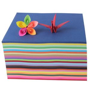 Kid DIY wholesale woodfree plus A4 80gsm block color paper