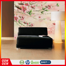 pink peach blossom wallpaper thick vinyl new flower wallpaper korean wallpaper home decor