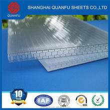greenhouse polycarbonate sheet price curved roof panel high impact with ten years warranty