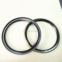 High temperature resistance Rubber metal case Oil seal for Power Plant coal Mill