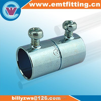 Hot sale products made in China supplier electrical emt set screw coupling with pipe fitting