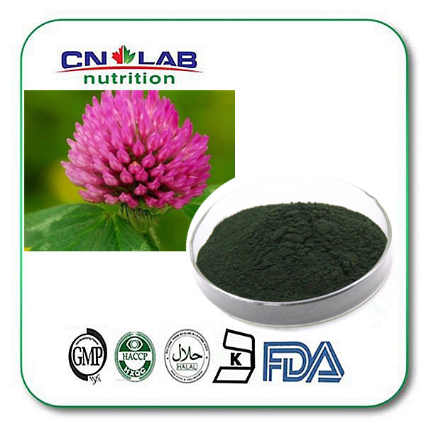 100% Pure Greenish Black Powder Red Clover Extract from 3W Botanical
