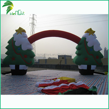 2015 Good whosale best quality inflatable christmas arches pvc