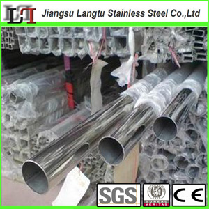 china supplier price asian weld mirror inox tube 201 304 316 316l round square rectangular erw stainless steel pipe manufacturer