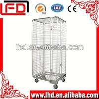 Supermarket Folding Wire tool roll cage
