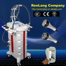 Professional 2 hand pieces cryolipolysi fat freezing / cryolipolysi Cavitation RF slimming machine for double chin removal
