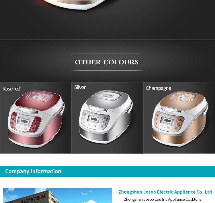 electric kitchen non-stick electric multi rice cooker
