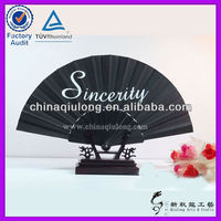 Spanish Style Brand Promotional Plastic Fan