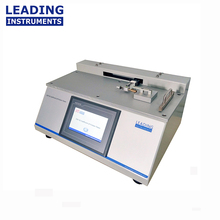 Coefficient of friction plastic package testing package machine