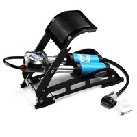 Portable Foot Operated Air Pump for Bicycle,bike