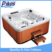 2 person outdoor spa bathtub