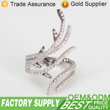 Brand New Fashionable Women Jewelry 925 Sterling Silver 3A cz Ring