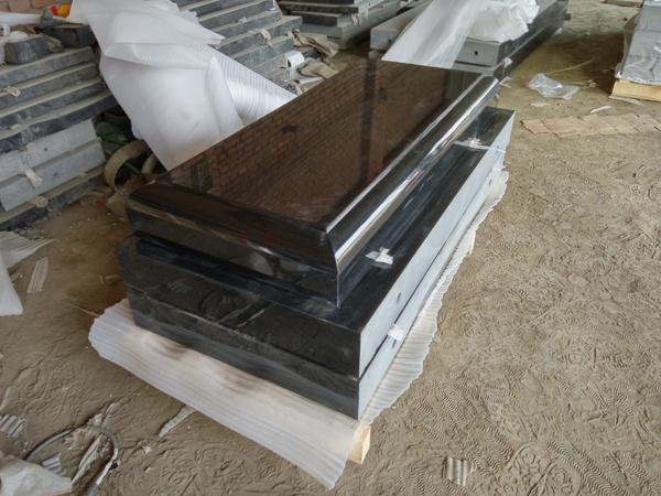 China black granite granite double heart monument for wholesales