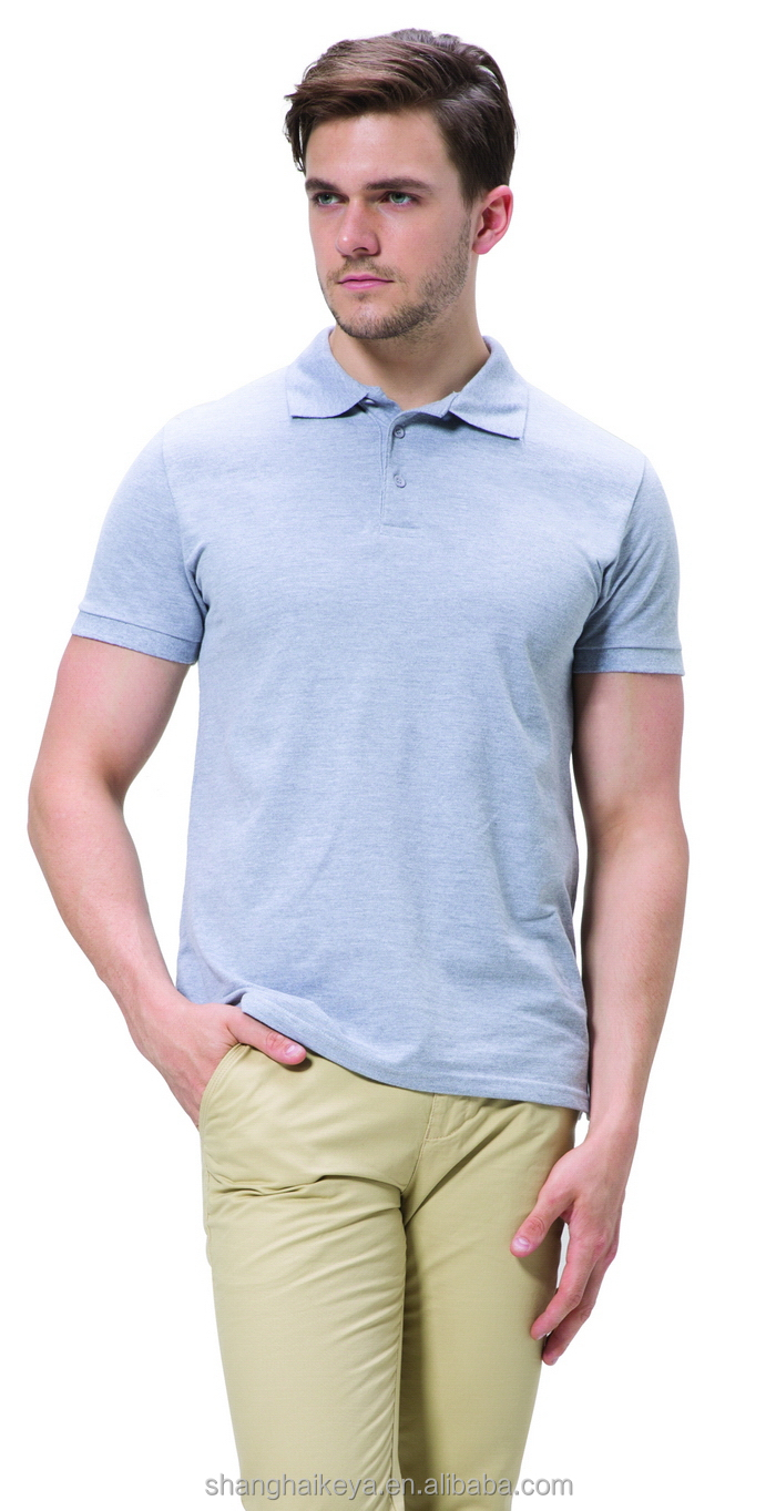 Designer promotional custom mans polo t shirts