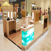 luxury mall beauty bar station furniture decoration ideas