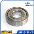 Stainless steel deep groove roller ball S6307ZZ bearing with 35*80*21mm