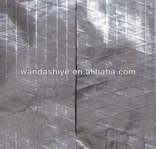 fire-proof double sandwich alum foil facing using for glass wool insulation product