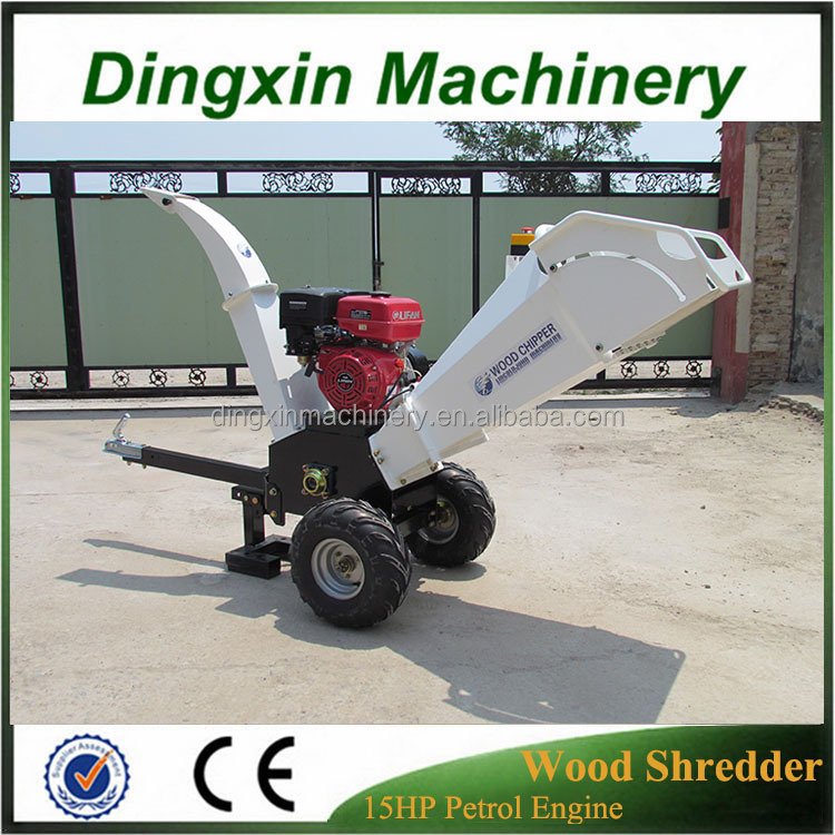 Super quality cheap price sawdust wood chipper with hydraulic system