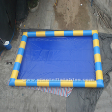Adult large inflatable swimming pool made of 0.9mm pvc tarpaulin for water roller balls