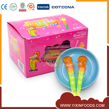 Light up sweet violin shape hard lollipop
