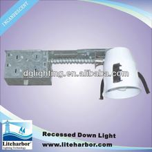 line voltage 3 inch remodel non-ic GU10 ul halogen incandescent light fitting made in China