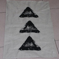 Plain Cotton Linen Kitchen Tea Towel
