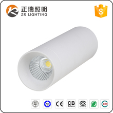 Antiglare aluminum body with white or black 7W 12W 20W 30W COB LED ceiling lamp