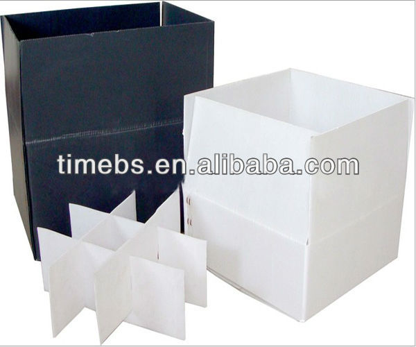 corrugated plastic corflute packaging box