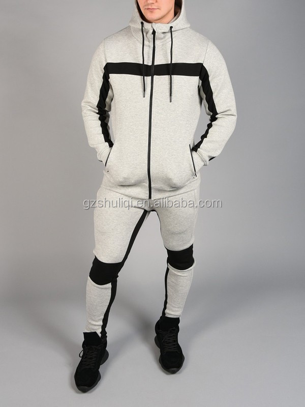 Custom sports dry suit wholesale /oem sportswear men 100 cotton or polyester men tracksuit with cheap price H-2003