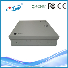 150W CCTV Power Supply Box 9 Channels 18 Channels CCTV Security Camera PTC Fuse 12v 10 amp power supply