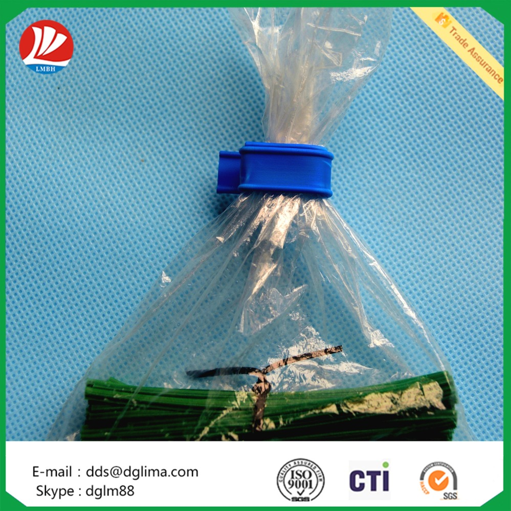 colorful tin tie for coffee bag closure/ tin tie in roll for sealing bag
