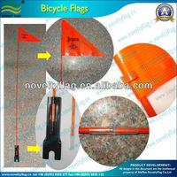 Custom advertising and promotion bicycle safety flag for sale