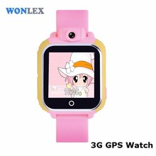 Hot Gift Wonlex Slim Watch Phone GPS Positioning SOS Watch Phone Stylus GW1000 Watch Phone with Skype