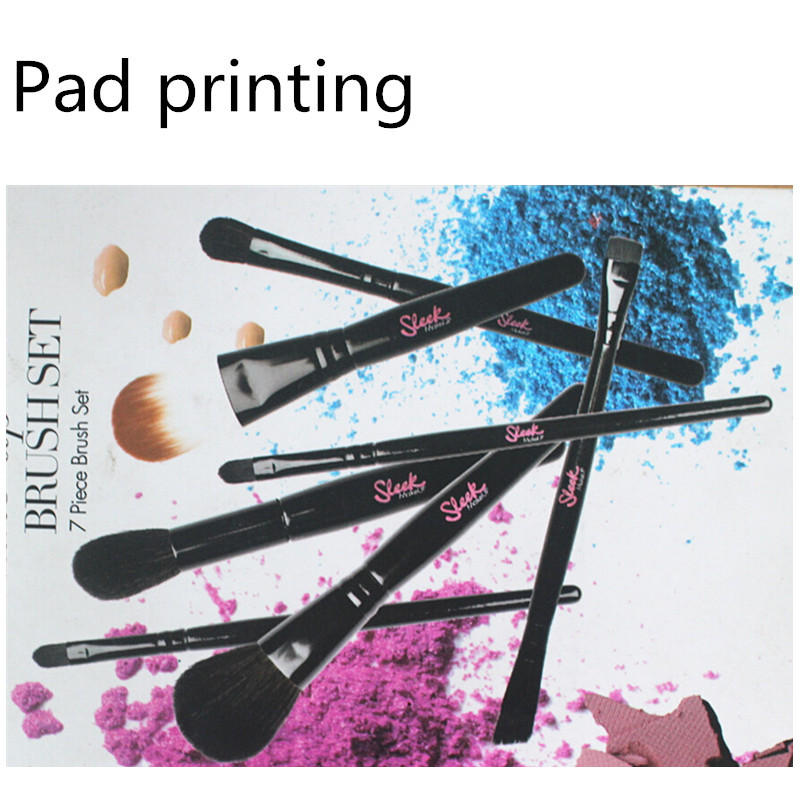 Sedona new arrived brushes, marbling flat makeup brushes, personalized makeup brushes