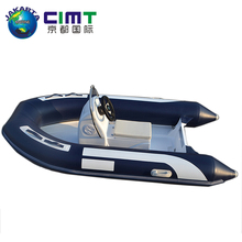 Chinese supplier marine equipment 2.7m PVC boat rubber inflatable rescue boat
