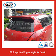 Mugen Style Fiber Glass Rear Spoiler for SUZUKI SWIFT