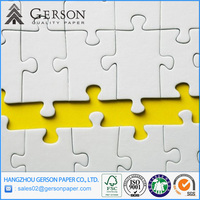 Paper Manufacturer Laminated Grey Chipboard for Puzzle for Kids