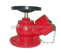Oblique Fire Hydrant valve With Flange end
