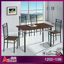 1202-13B antique cheap 4 seat dining room wrought iron table