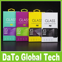Tempered Glass Screen Protector Retail Paper Packaging Box for iPhone 5S Samsung S5 Note 3