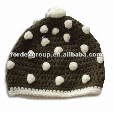 Beanie for Adult, Made of 100% Cotton, Customized Logos are Accepted