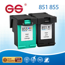 color Ink Cartridge 851 855 for hp 460cb 5748 6548 6848 9800 printer