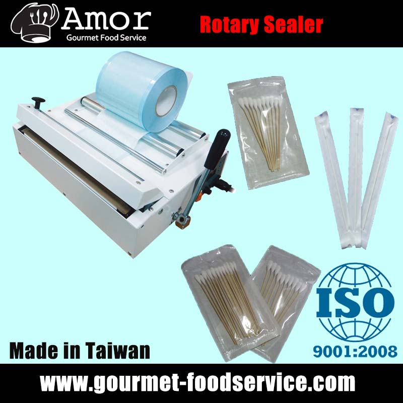 Electronic Medical Impulse Heat Sealer with Cutter