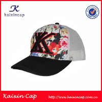 Wholesale Cotton Front Low profile 3D Embroidery Logo Custom trucker hats/ Mesh Caps